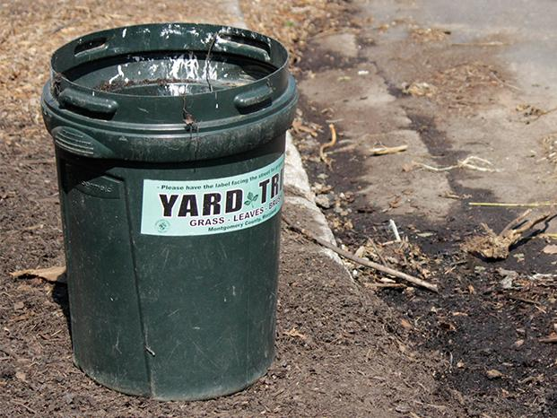 Yard Waste Can