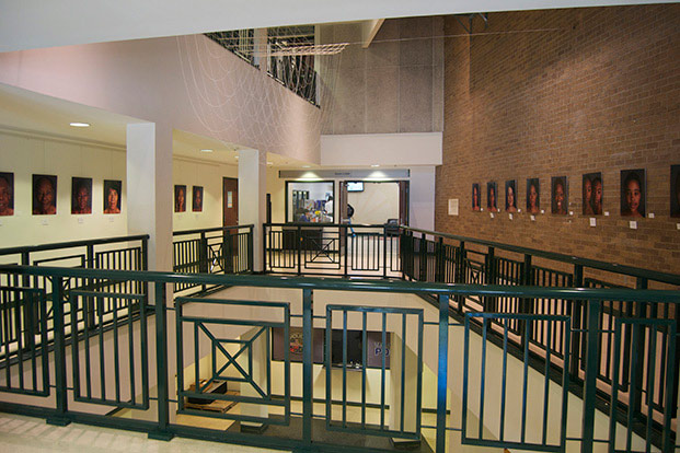 The Atrium Gallery in the Takoma Park Community Center.