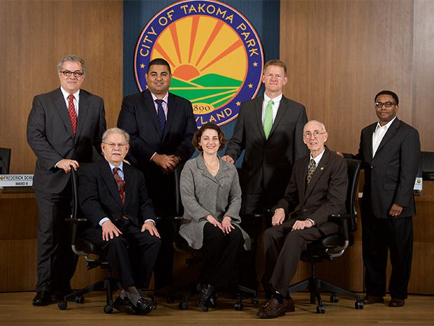 Current City of Takoma Park City Council