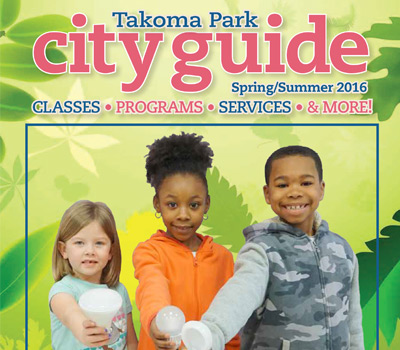 2016 Spring/Summer City Guide (front page ad)
