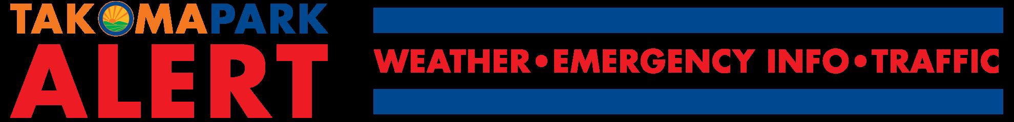 Takoma Park Alert Logo