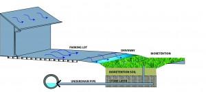 bioretention layer