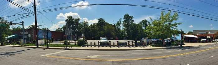 Photo panaroma of the Takoma Junction