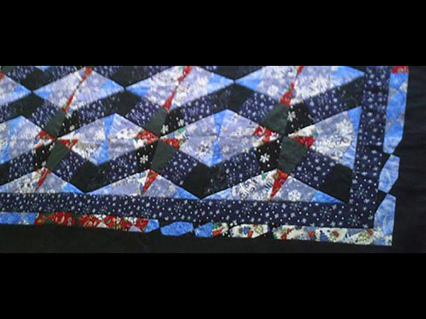 Quilt by Audrey Dittman from the 2015 Holiday Art Sale