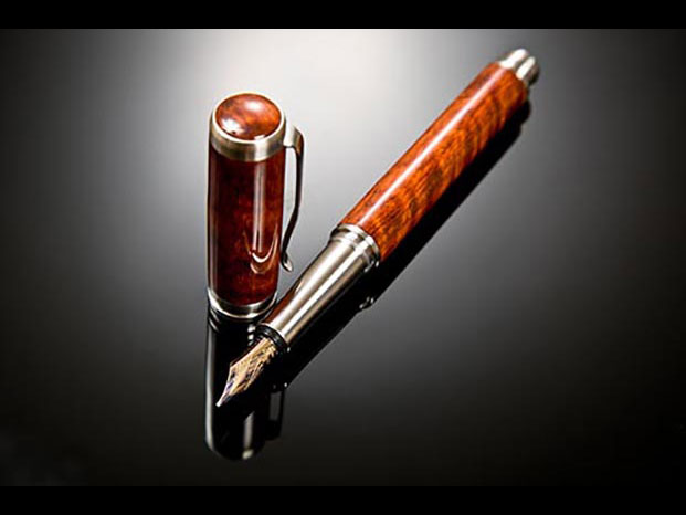 Fountain pen by Matthew Davis from the 2015 Holiday Art Sale