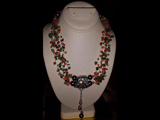 Necklace by Mireya Vargas from the 2015 Holiday Art Sale