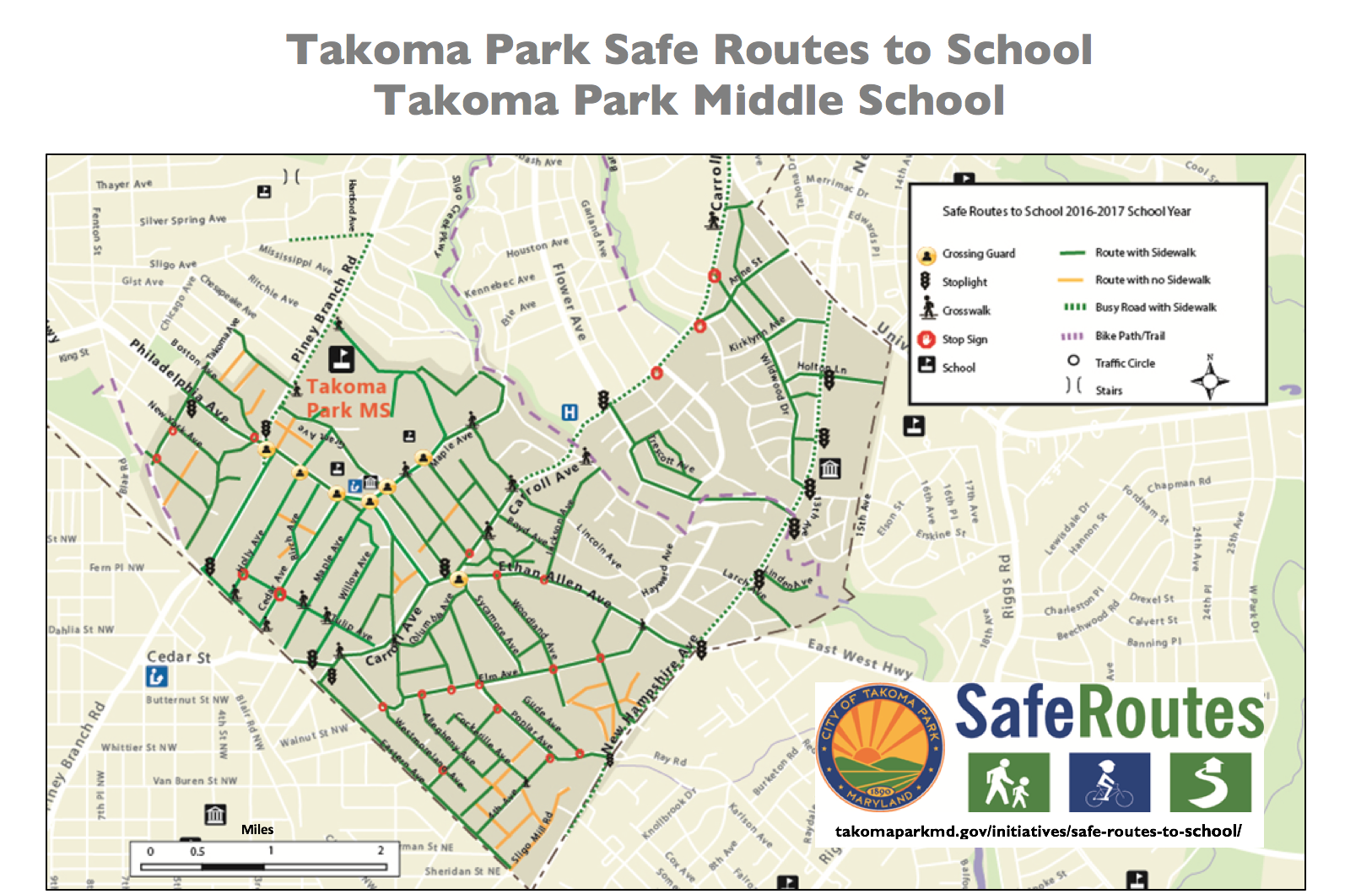 Map Your Route City Of Takoma Park - Map your walking route