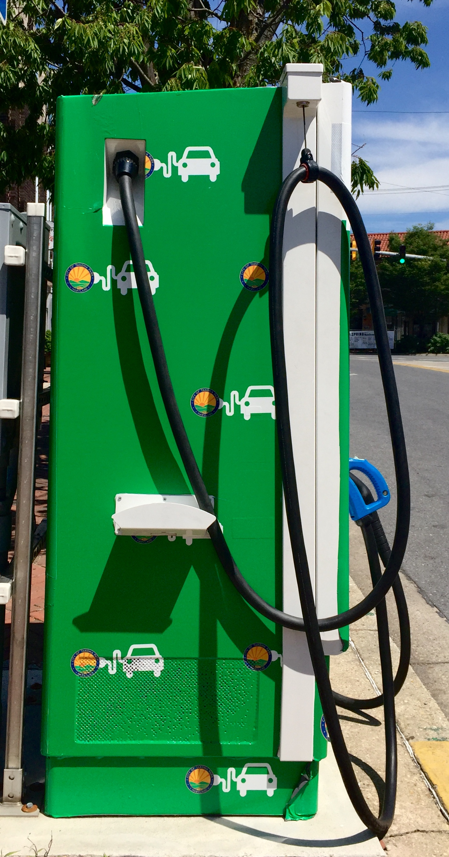 Makeover For Electric Vehicle Charging Stations City Of