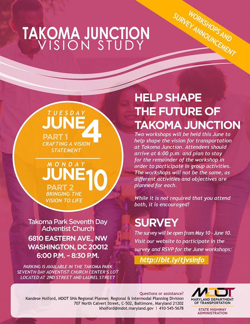 SHA Vision Study – Help Craft a Vision that Supports Mobility and