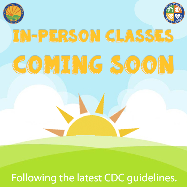 In-person classes coming soon following CDC guidelines